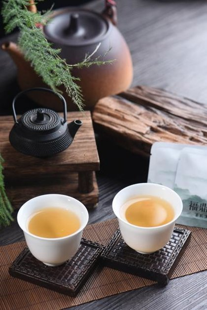 SHOU MEI baltoji arbata (paketėliuose)